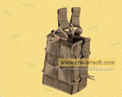 Pro-Arms T2 Dual M4/5.56 Magazine Pouch (Coyote Brown)